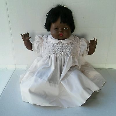 Vintage 1984 Afro-american Thumbelina Doll- Ideal Toy CBS Toy TT-22