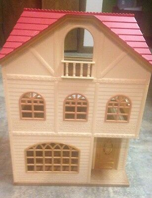 Calico Critters Oakwood Home 3 Floor Story House