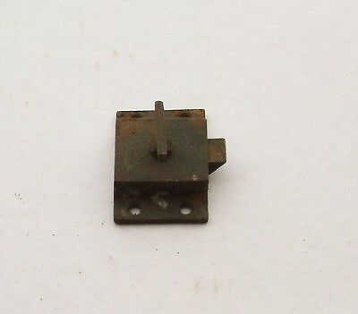 Vintage Cabinet Latch Lock Handle Pull Hardware