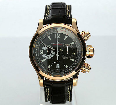 Jaeger LeCoultre Master Compressor chronograph 18K rose gold #146.2.25 42MM case