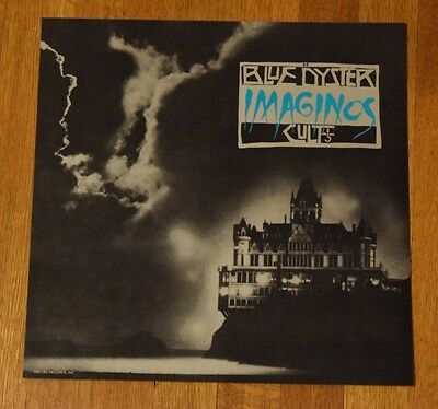 """Blue Oyster Cult """"Imaginos"""" 1988 2-Sided Record Promo Album Flat Art Poster RARE"""
