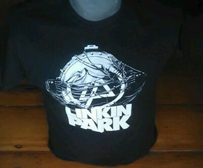 Vintage Linkin Park Concert T-shirt Black Large