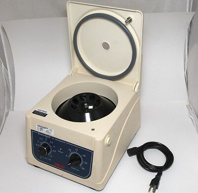 Unico C856 PowerSpin LX Lab Centrifuge 8 Place Rotor Variable Speed 300-4000 RPM