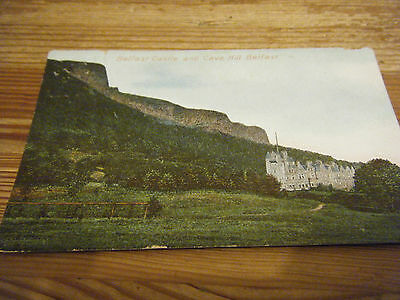 1905  Signal Series Card -  Belfast Castle And Cave Hill Belfast  Franked 12.10.