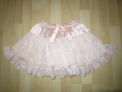 Girls Aged 5 Years Dusty Pink Multi Frill Skirt from Next