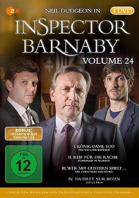 Inspector Barnaby - Vol 24 - 4 DVD Box