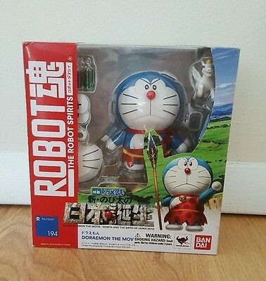 Doraemon The Movie Robot Spirits Action Figure Ban Dai 2016 Nib