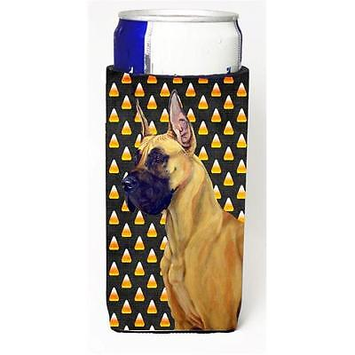 Great Dane Candy Corn Halloween Portrait Michelob Ultra bottle sleeves For Sl...