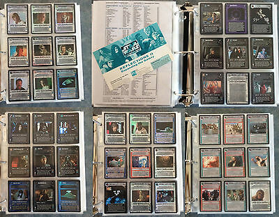 Star Wars CCG/SWCCG (Decipher) Master Collection Every SW BB Cards!
