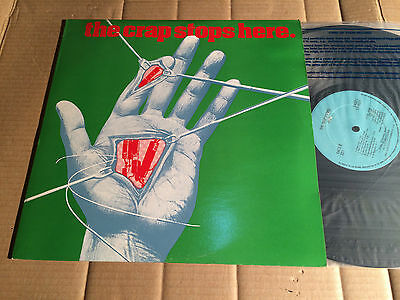 V/A - THE CRAP STOPS HERE - SLAUGHTER AND THE DOGS / JOHN COOPER CLARKE u.a - LP
