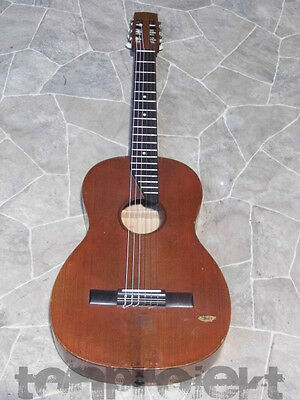 vintage KESSLER Classical guitar solid luthier Germany 1957