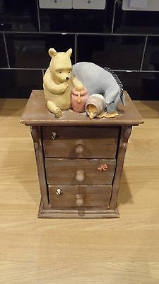 border fine arts classic winnie the pooh chest of drawers a0048 brown