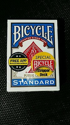 Bicycle Factory Sealed Stripper Deck Blue