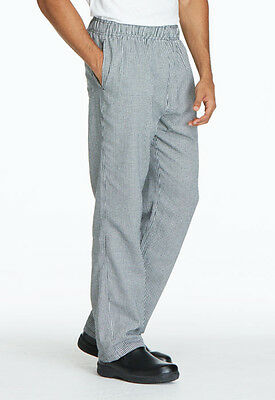 Dickies Unisex Traditional Baggy Chef Pant Houndstooth DC11 HDTH  FREE SHIP!