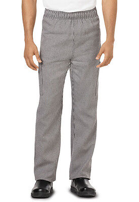 Dickies Unisex Chef Pant Houndstooth DC12 HDTH  FREE SHIP!