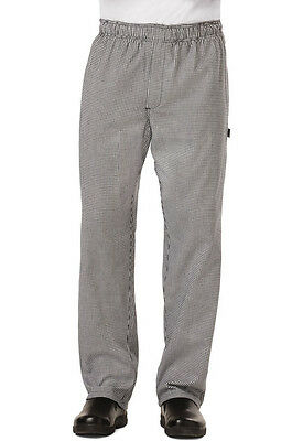 Dickies Mens Baggy Chef Pant w/ Zip Fly Houndstooth DC14 HDTH  FREE SHIP!