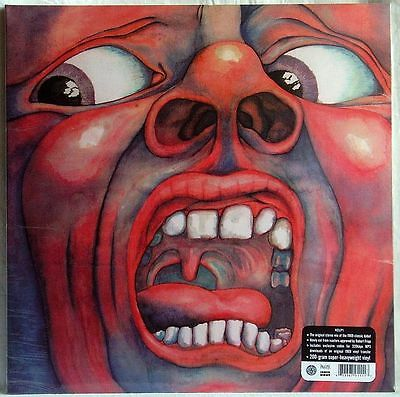 IN THE COURT OF THE CRIMSON KING LP 200g SEALED