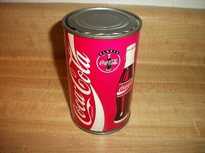 Vintage 1995 Battery Operated Coca Cola Coke Can Bank Works