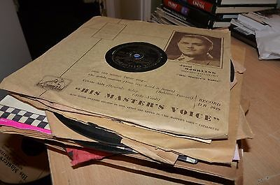 GOOD JOB LOT OF 36 VINTAGE 78 rpm RECORD - 1940's & 1950's SILLY CHEAP BARGAIN!