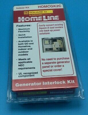 New Circuit Breaker Square D Homeline  HOM2100 2 Pole 100 Amp. 120/240V