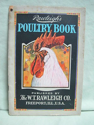 1928 Rawleigh's Poultry Book     Chickens