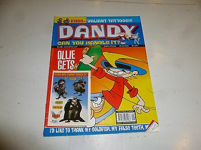 """The DANDY Comic - No 3301 - Date 05/03/2005 - UK Paper Comic """"With Gift"""""""