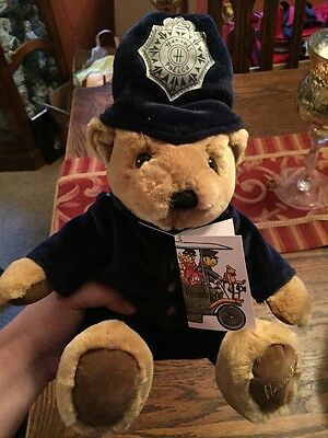 Harrods Teddy Bear London Knightsbridge British Police Officer Bobby Uniform