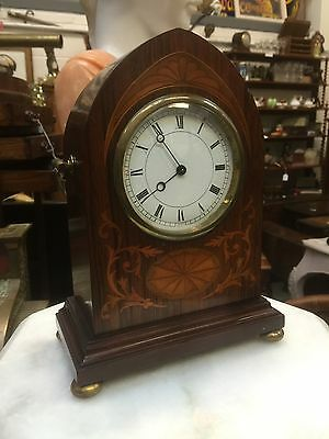 Superb Inlaid Mahogany Antique 8 Day Clock. Circa 1890. Open To Offers. • £195.00