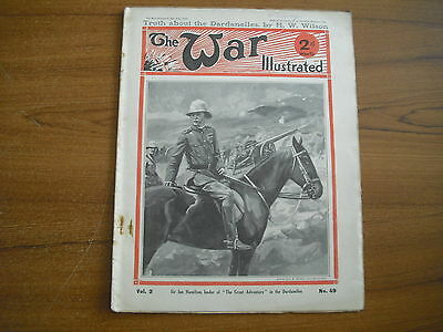 THE WAR ILLUSTRATED - JULY 24th 1915 - THE GREAT WAR