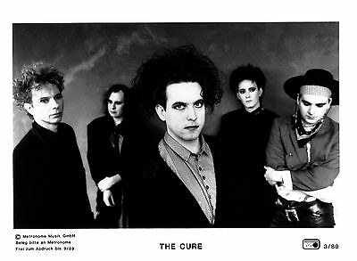 The Cure - Promo Press Photo 1989 BIG SIZE - Robert Smith - Gothic Rock Pop Live