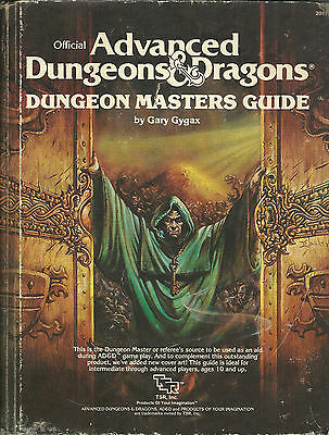Advanced Dungeons & Dragons, Dungeon Masters Guide (1979)