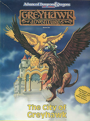Advanced Dungeons & Dragons, The City of Greyhawk from TSR Boxed Set