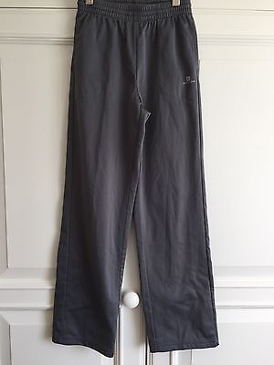 Track Suit bottoms - 10 years girl - dark grey - light  weight - Domyos