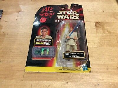 Star Wars Episode One Obi-Wan Kenobi (Jedi Duel) With Lightsaber Action Figure