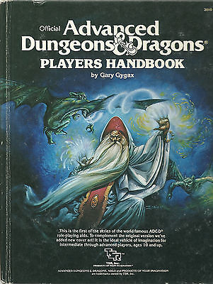 Advanced Dungeons & Dragons, Players Handbook (1988)
