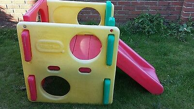 Little Tikes climbing cube/frame with slide