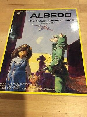 Albedo: Roleplaying Game (2nd Edition)