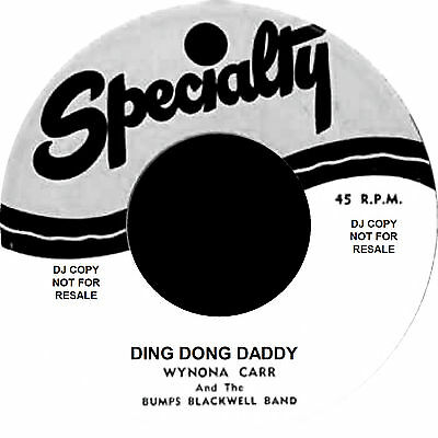DING DONG DADDY / TOUCH AND GO Wynona Carr *2 Great jIVERS*