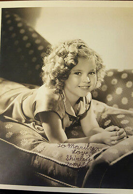 *Sale* Shirley Temple - Very Rare Signed Photo--When Child!