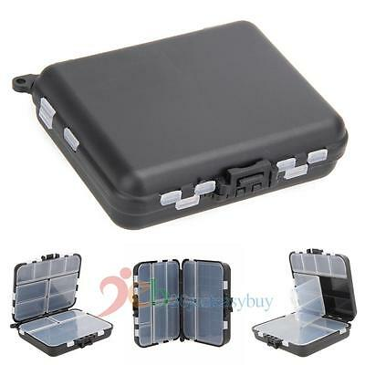 Fishing Lure Bait Tackle Waterproof Plastic Storage Box Case w/ 26 Compartments