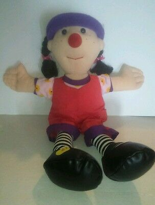 """The Big Comfy Couch Loonette Plush Doll Stuffed Mollys Friend 20"""""""