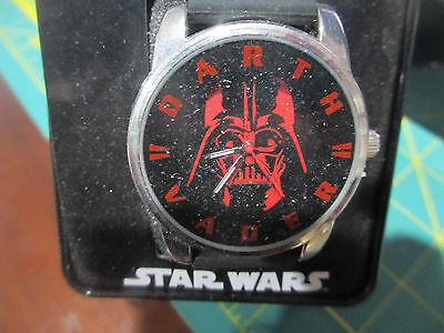 star wars watch Darth Vader red/black
