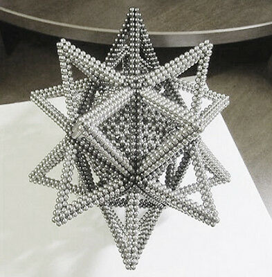 216pcs 5mm Magnet Balls Magic Beads 3D Puzzle Ball Sphere Magnetic Ball For Gift