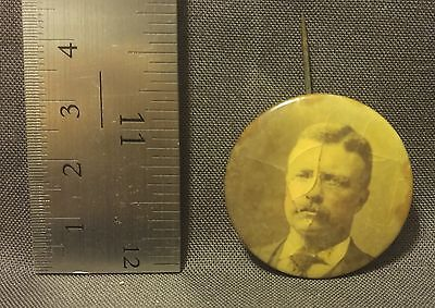 Vintage early 1900's TEDDY ROOSEVELT Pinback Button
