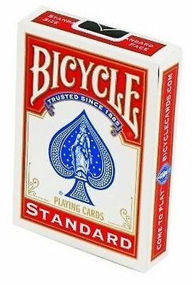 Brand New Bicycle Playing Cards Red