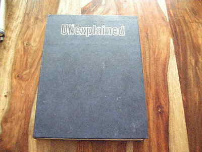 Original Orbis The Unexplained Magazines in Binder  - Ghosts Loch Ness VOLUME 6