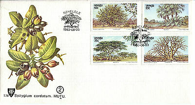 Venda 1983 Indigenous Trees FDC
