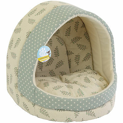 Me & My Large Polka Dot Cat/dog Igloo Pet Bed Warm House/mat/snug Puppy/kitten