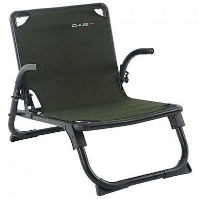 Chub NEW Carp Fishing RS Plus Superlite Green Seat Chair - 1378164