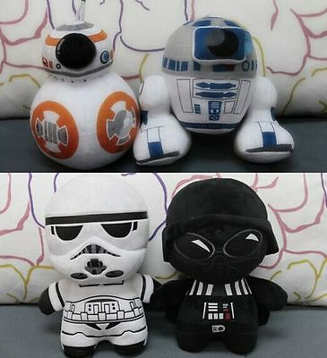 4 Styles New Disney Star Wars VII The Force Awakens Soft Plush Toys Doll 8""